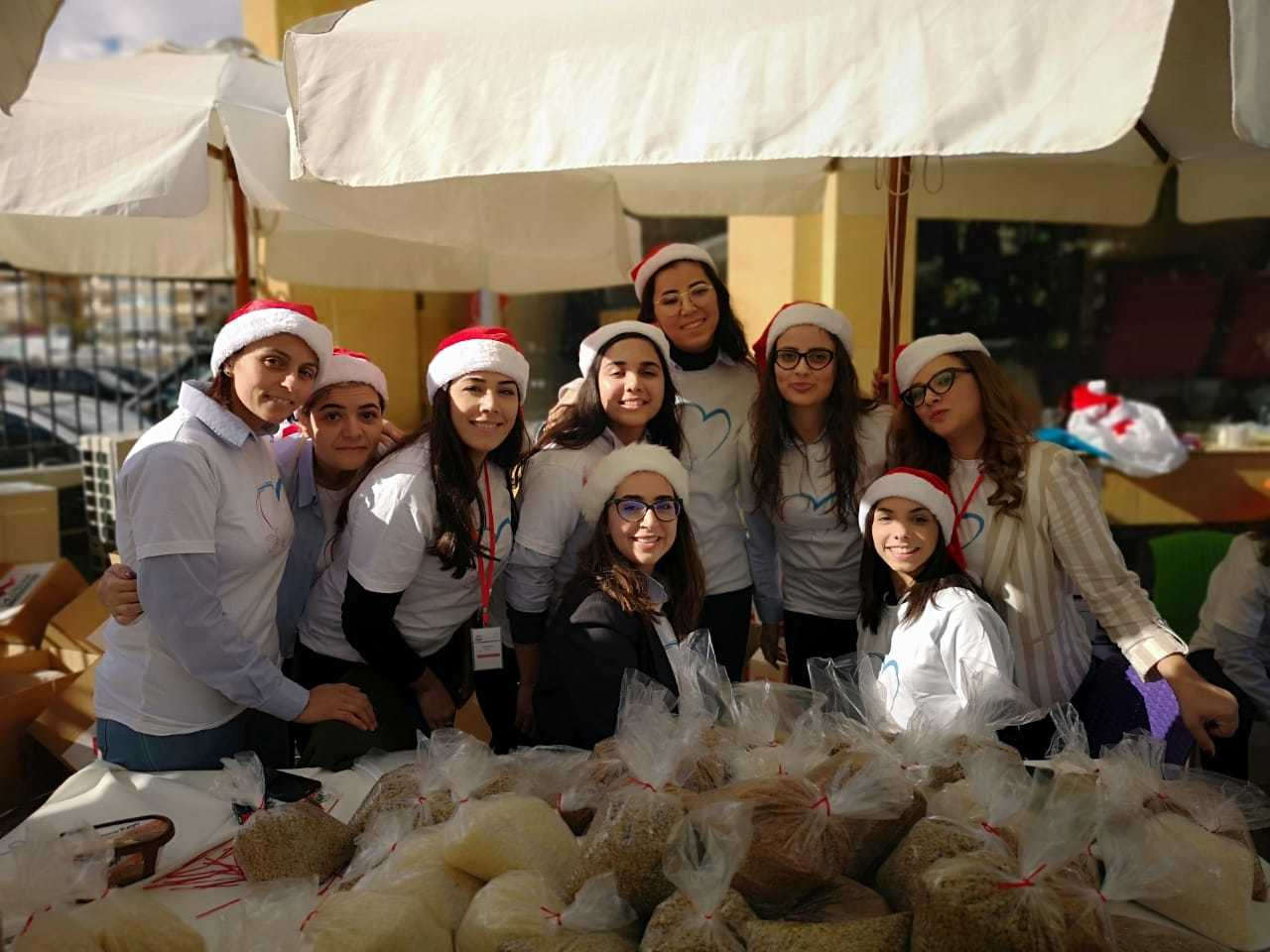 Moustasharoun Bureau Christmas Donation Event