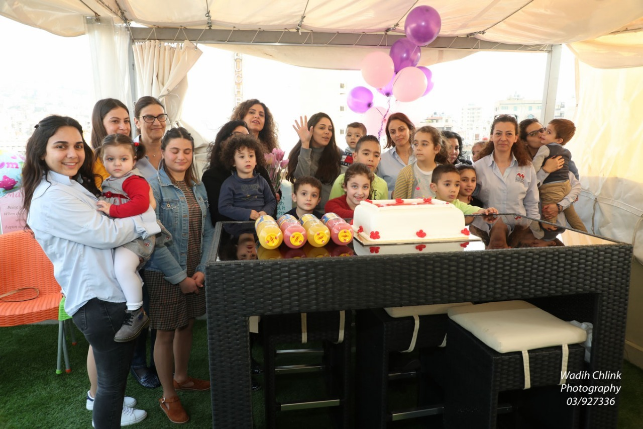 Moustasharoun Bureau Team Celebrating Mother's Day!
