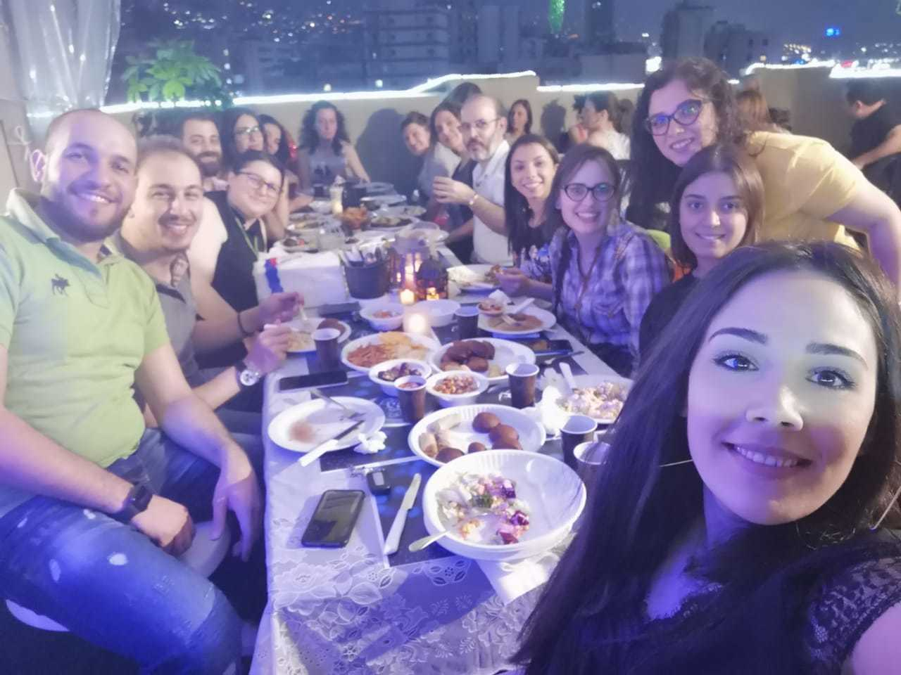 Ramadan Iftar with Moustasharoun Bureau Team