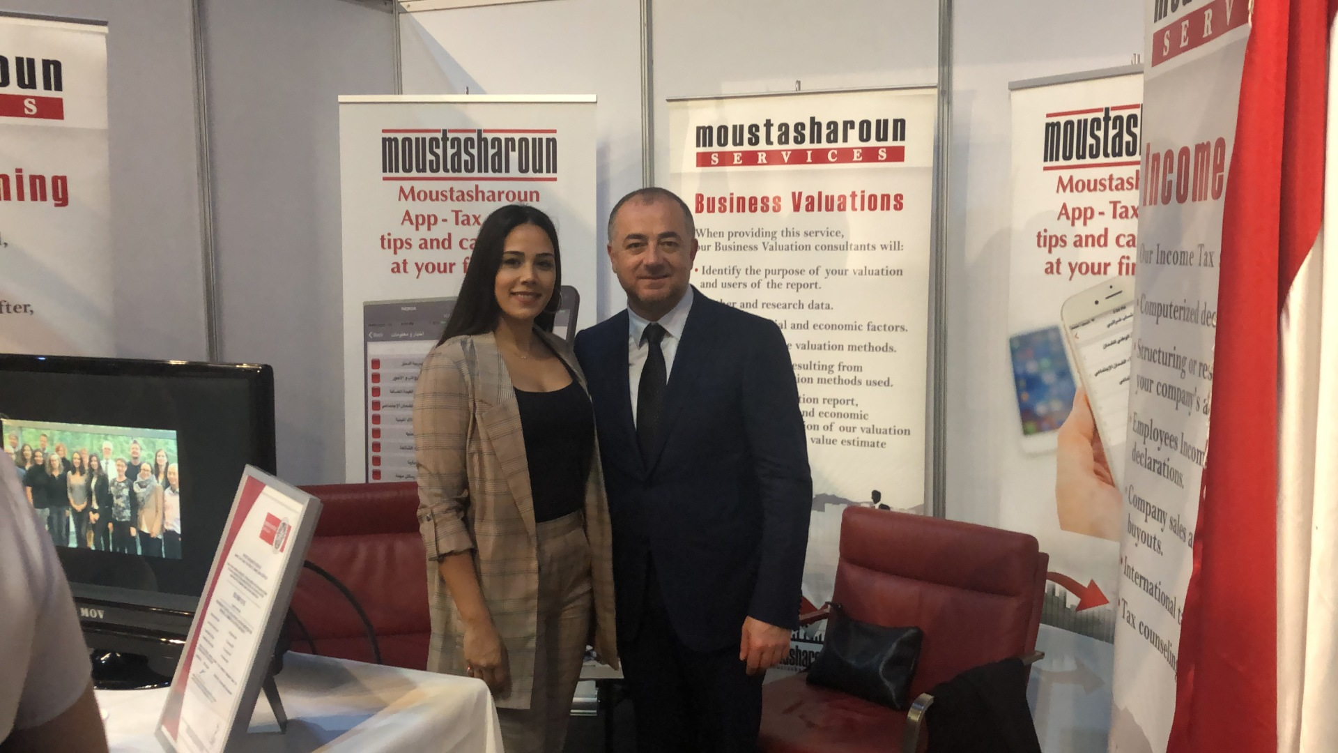 Moustasharoun Bureau participation in Lebanese Diaspora Energy Event 2019