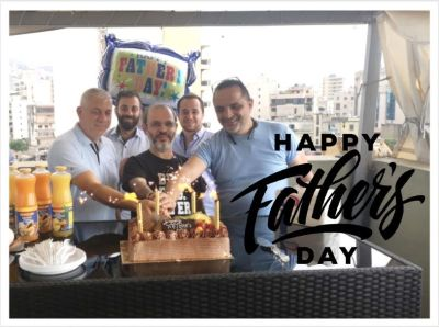 Moustasharoun Bureau celebrating Father's Day