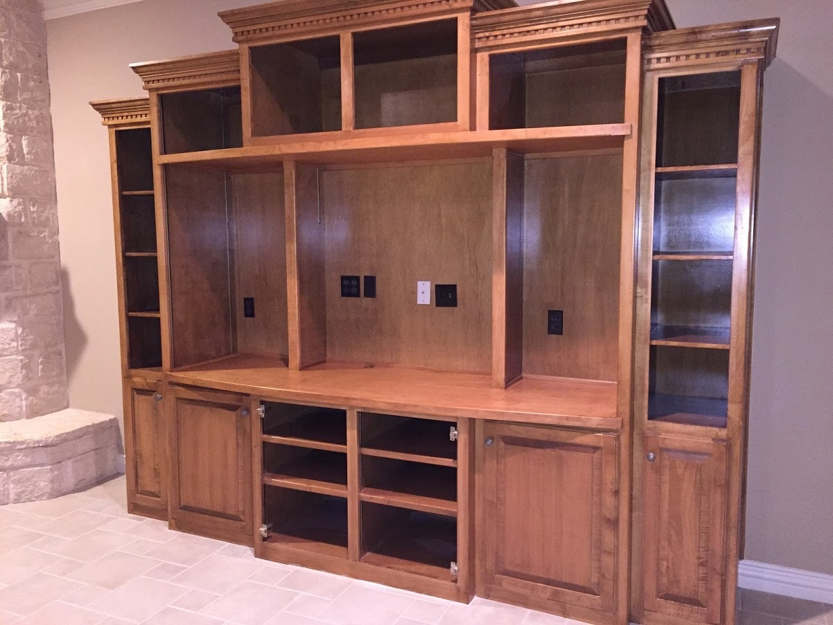 Cabinet Modification (Pecan Plantation)