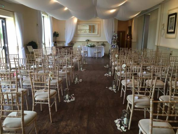 Take a look at our ceremony hall