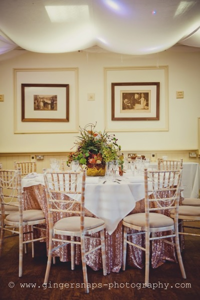 Be inspired by our reception hall