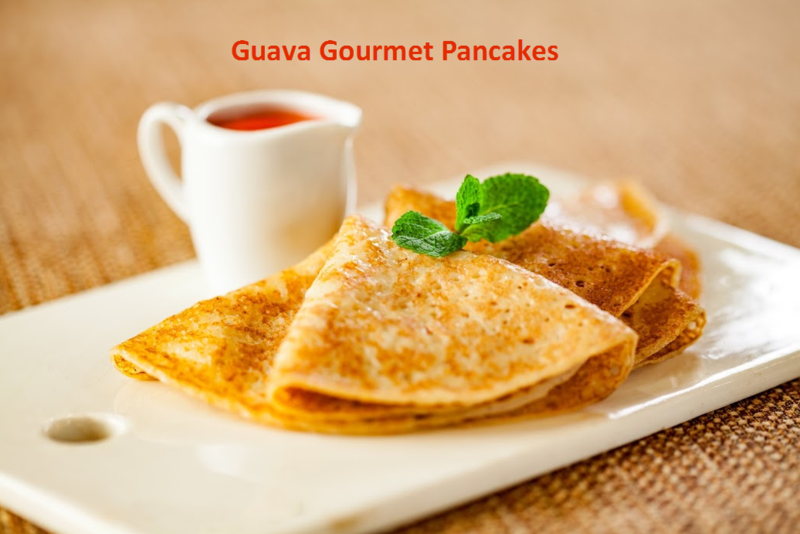 So Domesticated! Guava Pancakes
