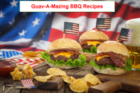 Western Bacon BBQ Cheeseburgers with Guava