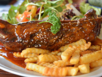 Ribs, Fries, And Guava