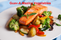 Healthy Vegetables with Guava