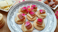 Stacked Guava Crackers