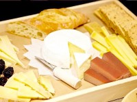 Cheese boards with crackers and Guava