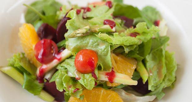 Kale Salad with Guava Vinaigrette