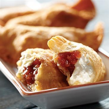 GUAVA AND CREAM CHEESE EMPANADAS