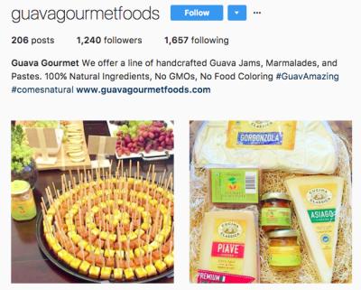 Instagram - Guava Gourmet Foods
