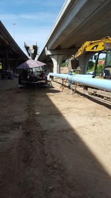 TX DOT New potable water line