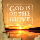 God is on the Move