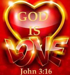 John 3:16 – For God so loved the world!