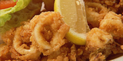 Fried Mozzarella, Calamari, 6 Jumbo Shrimp, Combo....