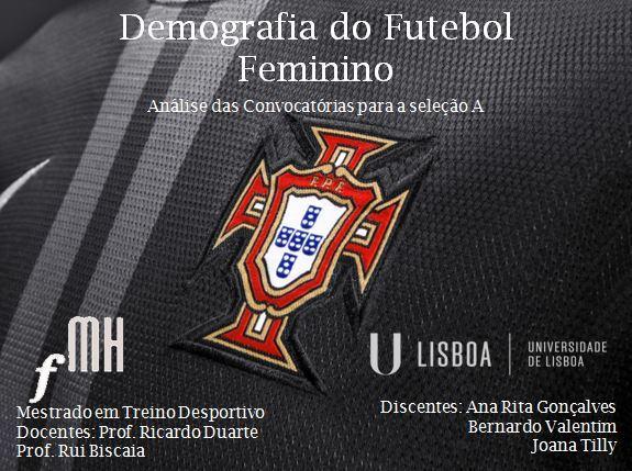 Demografia do Futebol Feminino em Portugal