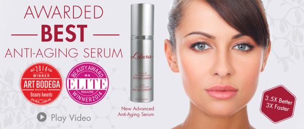 Award winning Anti-Aging Serum