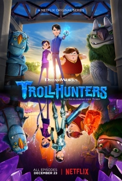 """Troll Hunters"" series by Dreamworks"