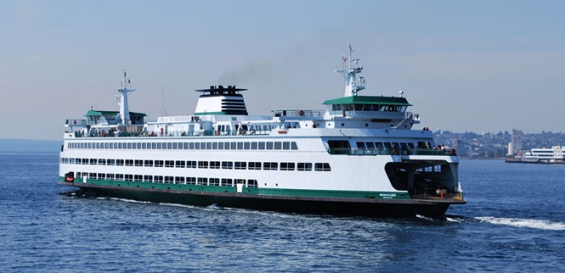 A Ferry-Ride from Seattle