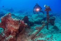 Explore sunken treasure