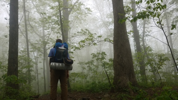Day Two on the Trail...Into the Mist