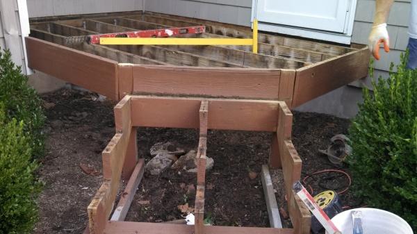 Stripped mini deck