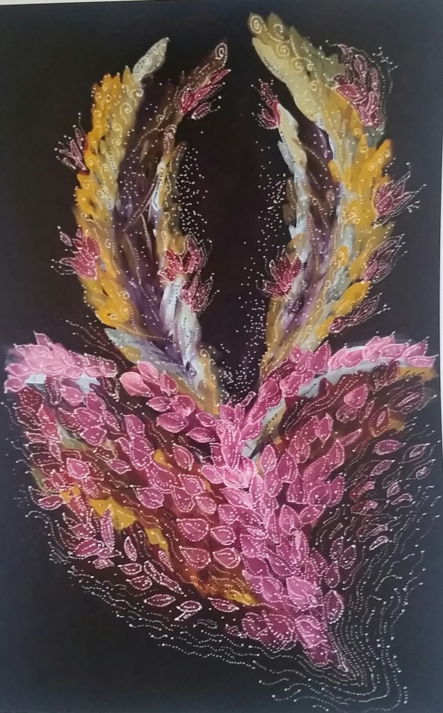 Energy Artwork- Petals of Life