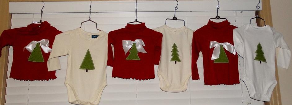Hand applique, handmade Christmas Tee, Hand Applique Christmas Tree Tees, Hand Applique Christmas t-shirt, hand applique tshirt, felted tshirt