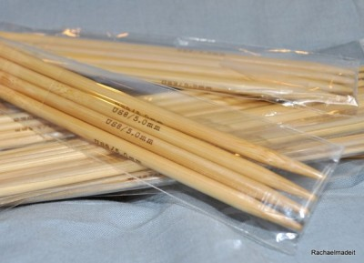 Bamboo Double Pointed Knitting Needle, DPN, Knitting Double Pointed Needle, Bamboo Needles, Bamboo Knitting Needles, Knitting DPN