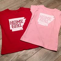 AR Tees, Arkansas tees, state tees, Screen Printed Tees, arkansas tees, arkansas tshirts, AR clothing, 501, home girl tee, home boy, home girl, home boy tee