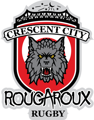 Crescent City Rougaroux Rugby Logo