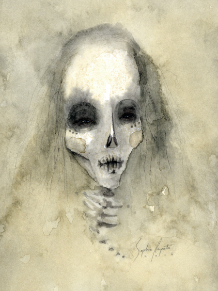 """Skeletal Spirit"" $333"