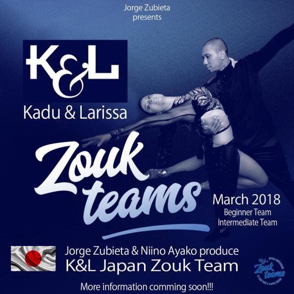 Kadu&Larissa World Team in Japan