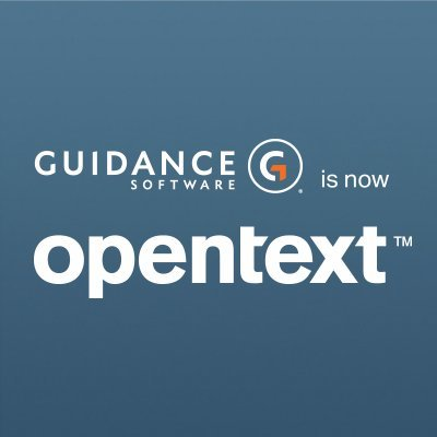 Guidance Software is now opentext