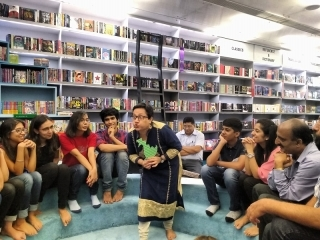 Story Junction-  Story telling session at Oxford Bookstore