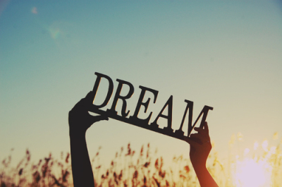Everyday I wake up, I have a dream for myself
