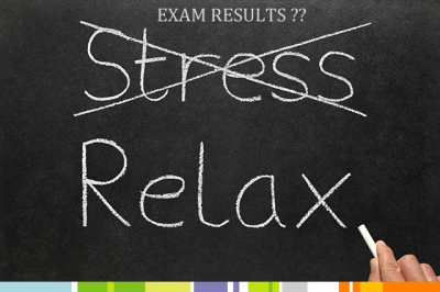 Board exam-results stress management  for students and parents