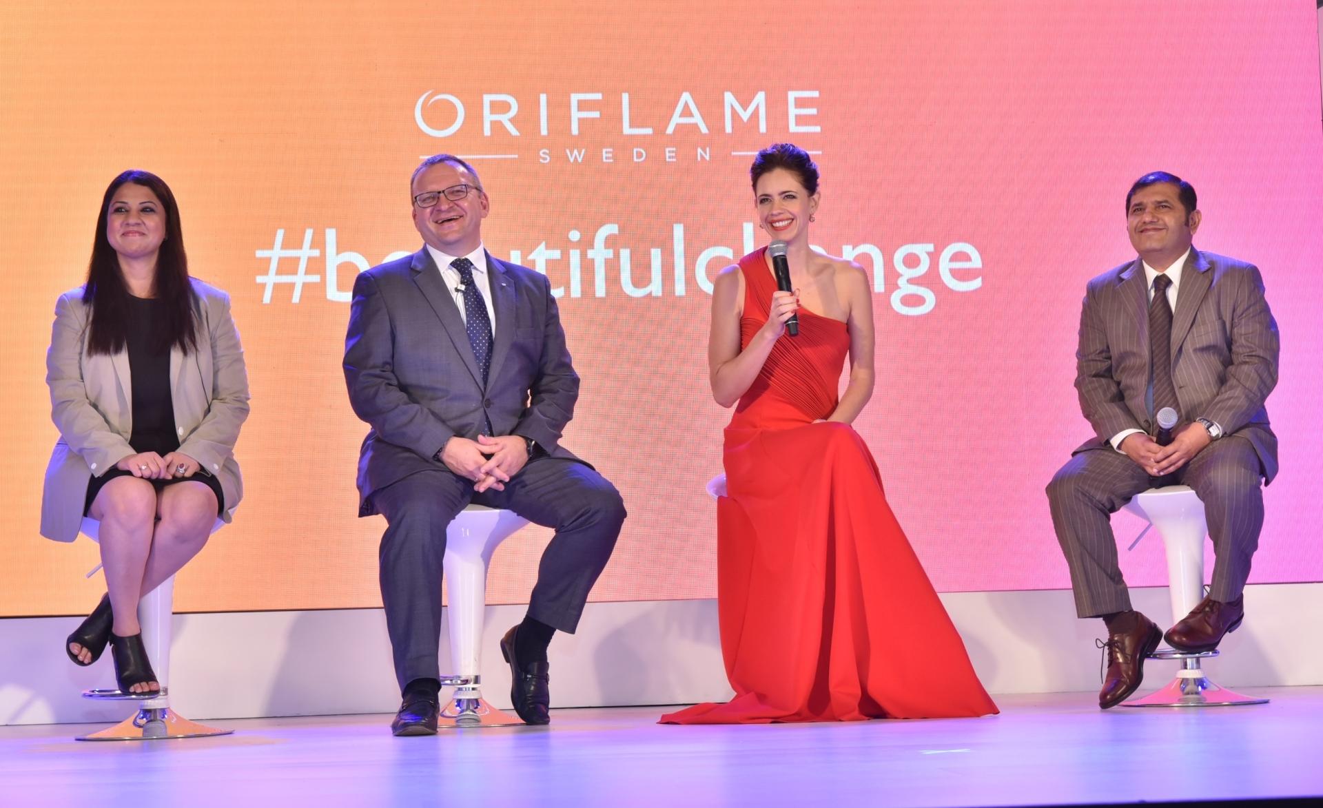 Oriflame celebrates 50 years of making 'A Beautiful Change'; ropes in Kalki Koechlin as brand ambas