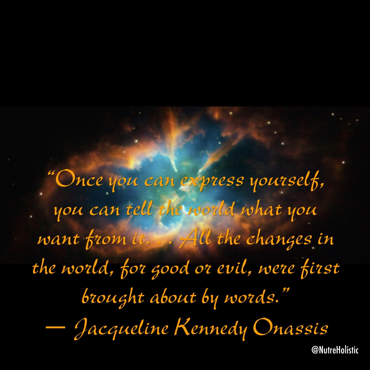 Jackie O. Quote