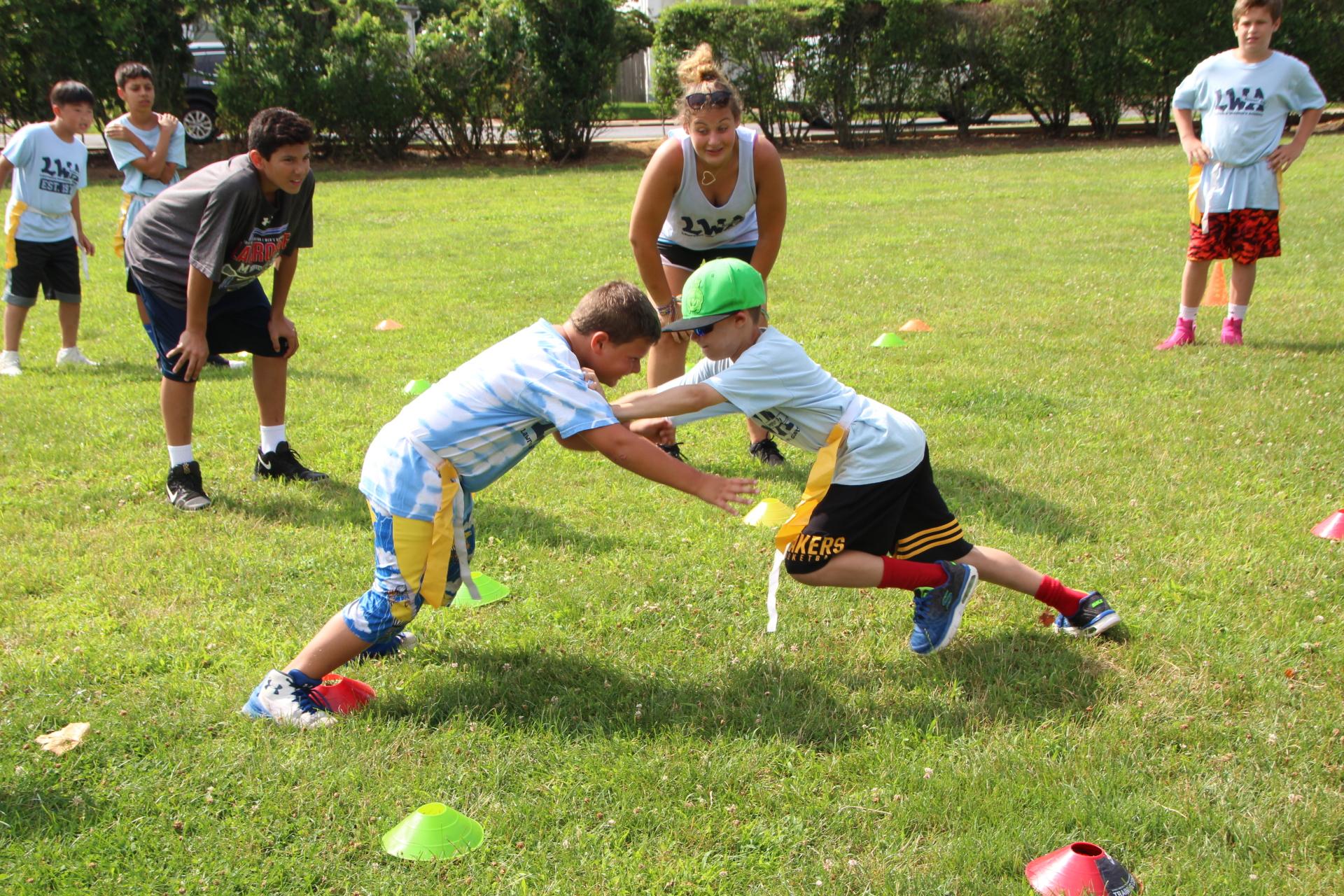 7 12 CSA Football Clinics