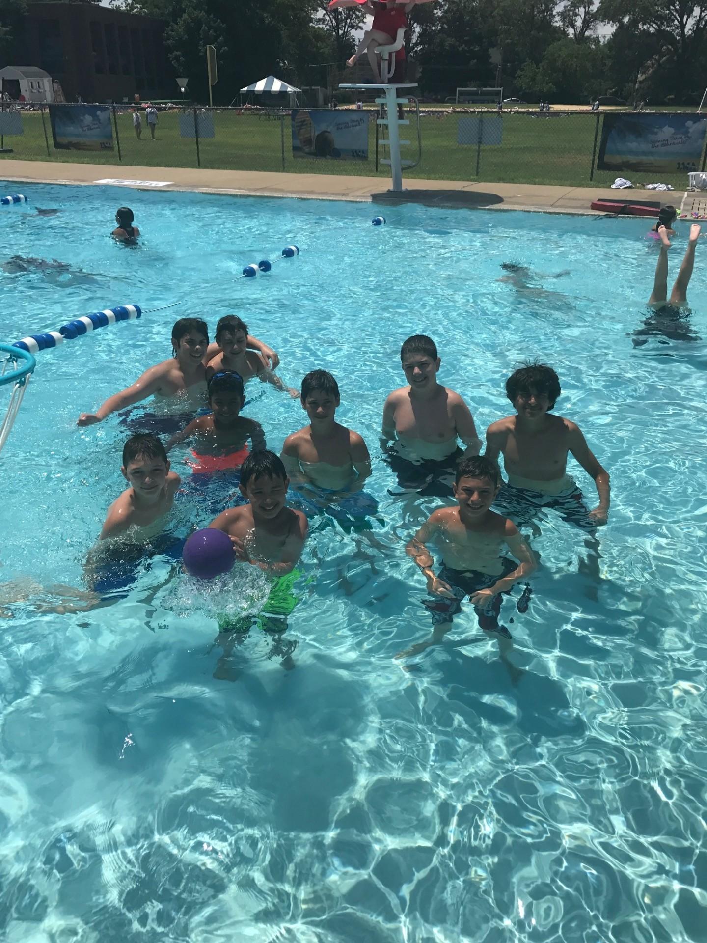 7 12 CIT Swim Event
