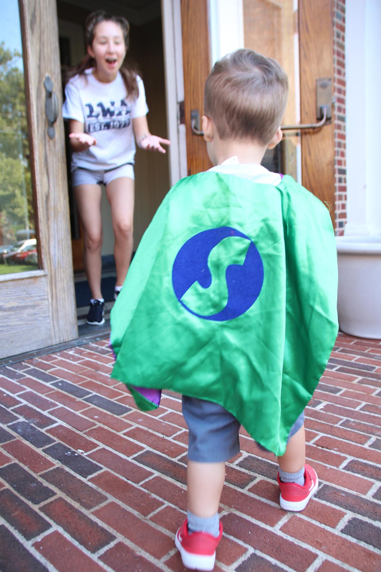 8 16 Nursery Superhero Day COLOR WAR BREAK!