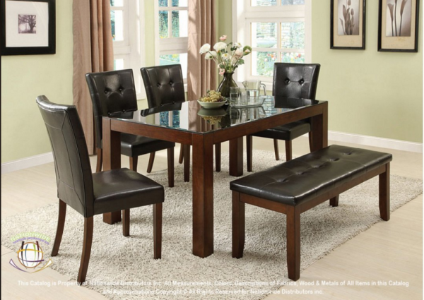 D289, 5pc.Set with bench = $799