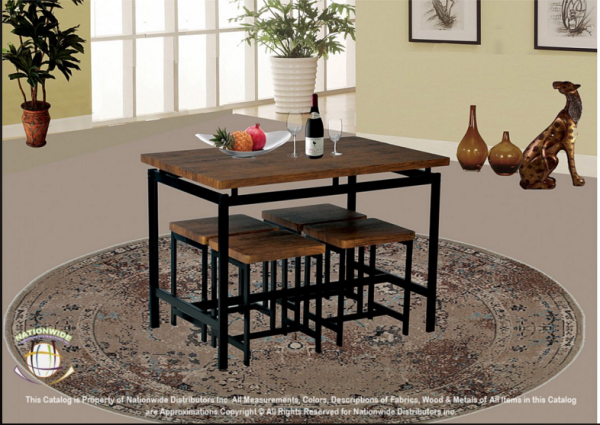 D950, Table, 4 stools = $199
