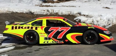 The #77 Hight Motorsports Super Late Model.  (Hight Motorsports Photo)