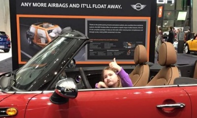 Kids of All Ages Ready for Boston Auto Show