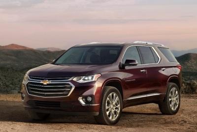 The 2018 Chevrolet Traverse  (GM Photo)