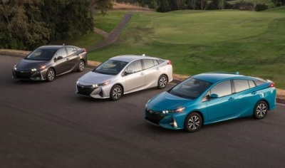 The Prius Prime Family  (Toyota Photo)